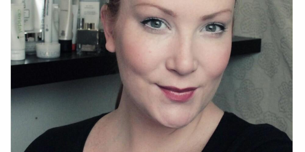 SMINKELOOK 6: Naturlig og frisk med flytende eyeliner