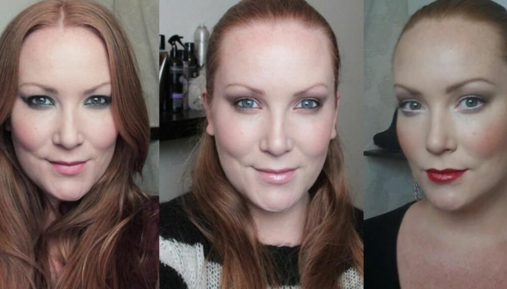 DEN FINESTE SMINKELOOKEN: Gutter: Hvilken sminkelook synes dere er finest?