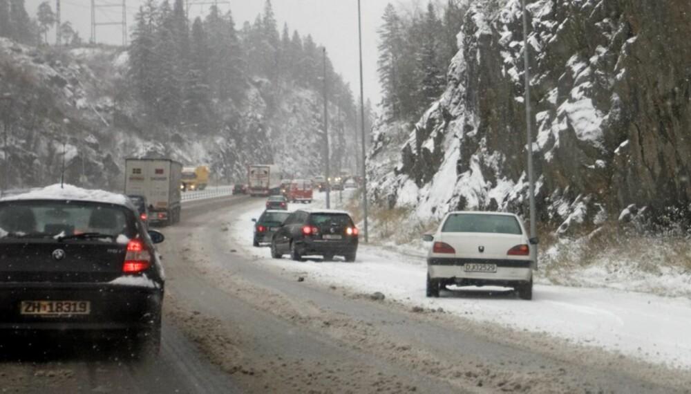 Det var mange som slet da den første snøen falt på østlandet denne uka. Heldigvis finnes det noen som er verre.