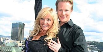 Hanne Krogh og Asmund Grinaker. Skal vi danse - høsten 2008. Lansering.