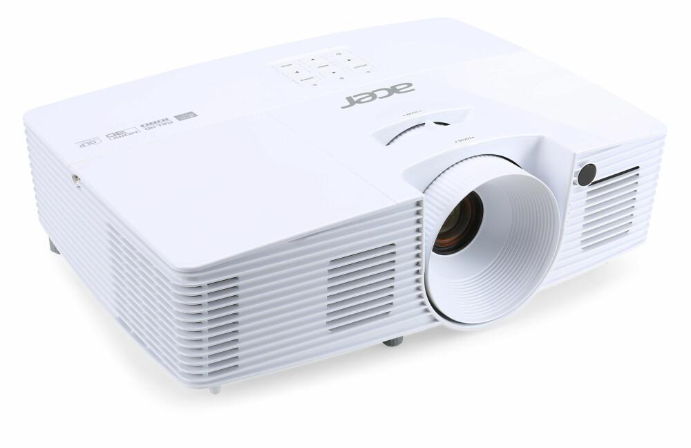 INNSTILLINGER: Med de riktige innstillingene på plass, er Acer en helt ok projektor.