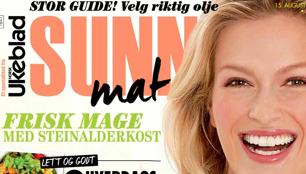SUNN MAT: Magasinet «Sunn Mat» er nå i salg. Bestill din utgave via SMS.
