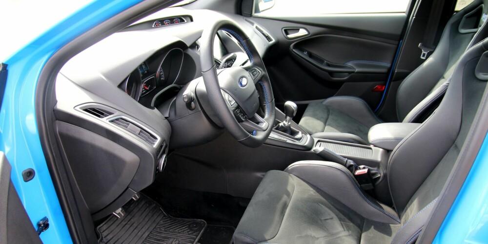 MER HARMONISK: Focus RS føles mer nedpå der Hondaen stusser. Og når alle kreftene får fire hjul å spille på, blir det litt mer ro og litt mer harmoni. Særlig gjelder det der asfalten er sporete.