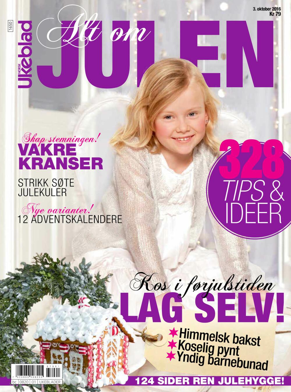 ALT OM JULEN: Magasinet «Alt om julen» er nå i salg. Bestill din utgave via SMS.