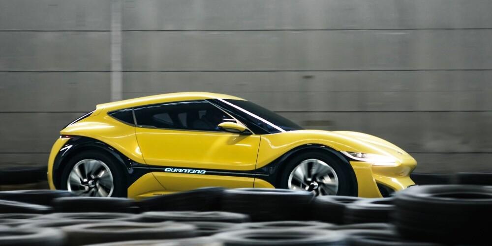 1100 KILOMETER: NanoFlowcell kjørte nylig en rekkeviddetest av Quantino. Etter 14 timer og 1100 kilometer gjenstod det ifølge produsenten 78 prosent drivstoff.
