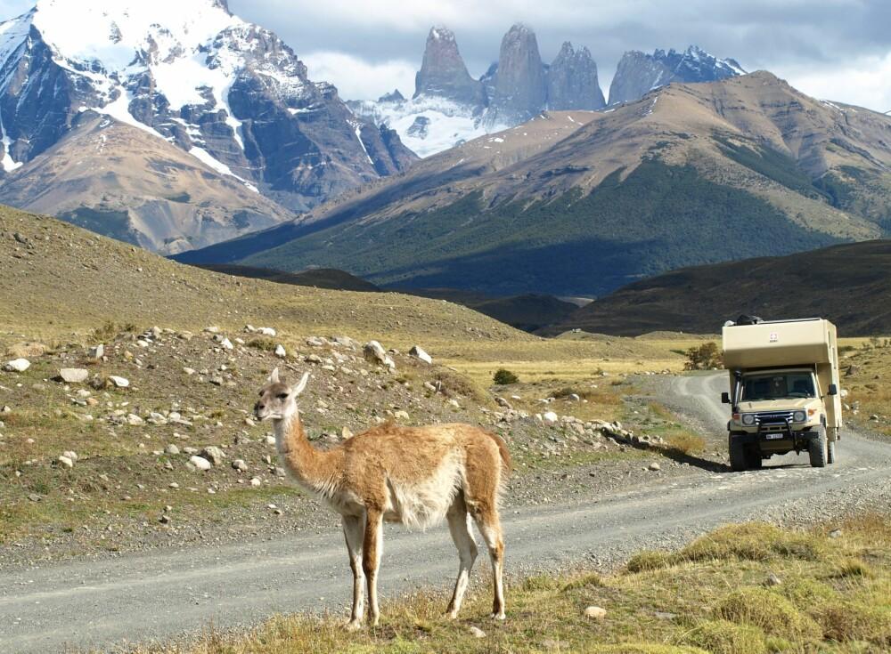 SØR-AMERIKA: Dette bildet er tatt i nærheten av byen Caleta Olivia, nær Santa Cruz i Argentina.