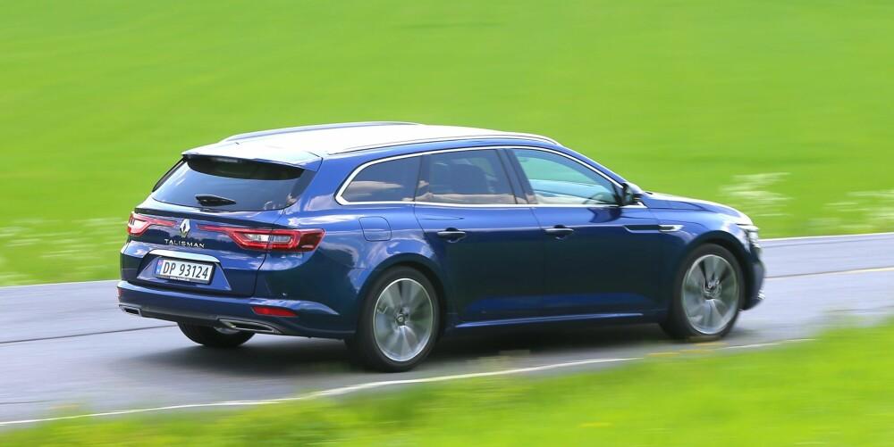 FØLES STERK: Den lille 1,6-dieselen yter 130 hestekrefter og hele 320 Newtonmeter. 10 hk og 70 Newtonmeter mer enn 1,6-dieselen i VW Passat. Det gir fine ytelser.
