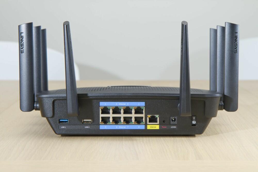 ENDELIG: Vi har etterlyst flere LAN-porter på trådløse rutere i mange år, og endelig får vi hele 8 porter!