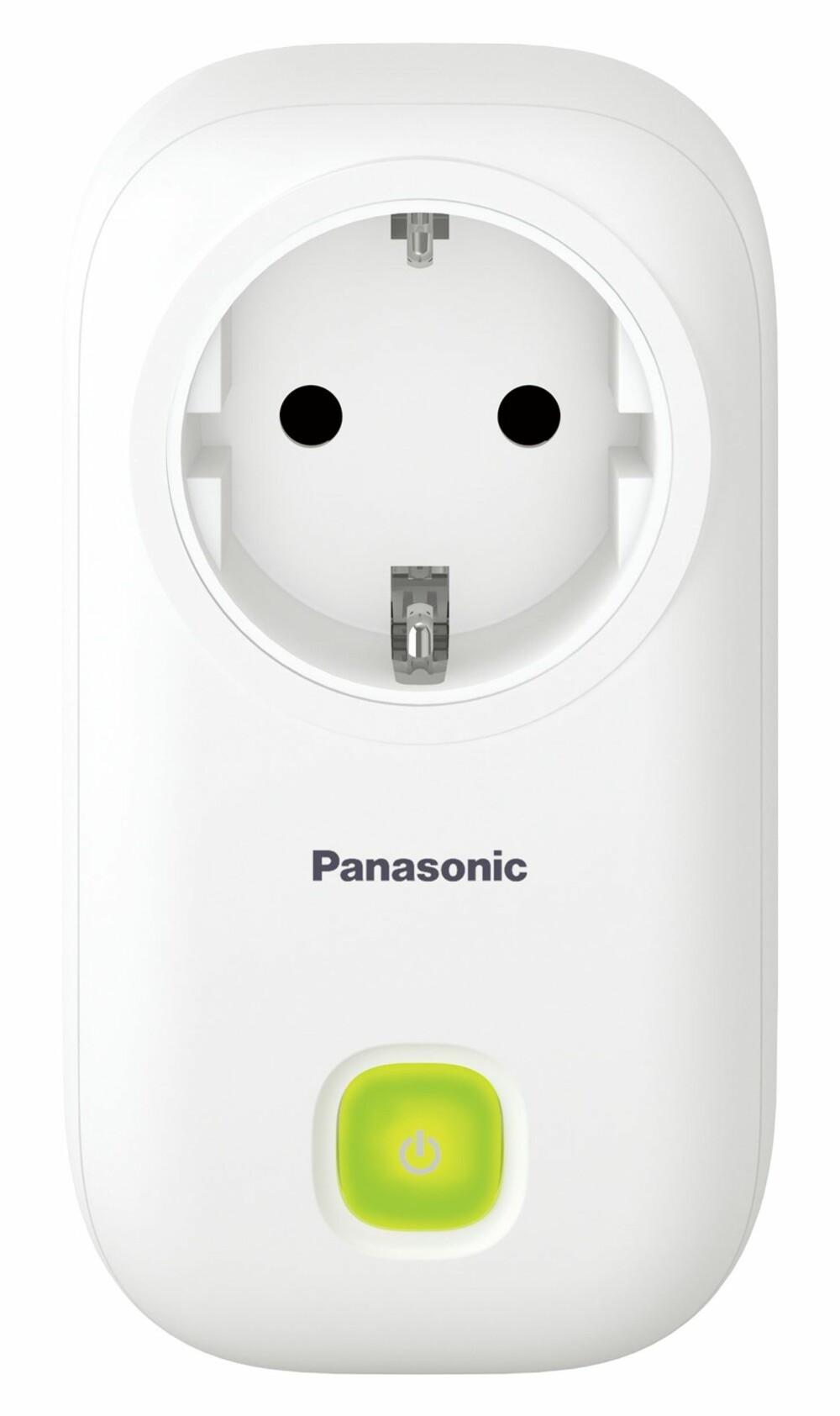 SMARTPLUGG: Denne typen smartplugge kan brukes for å styre lys og tilkoblede varmeovner.