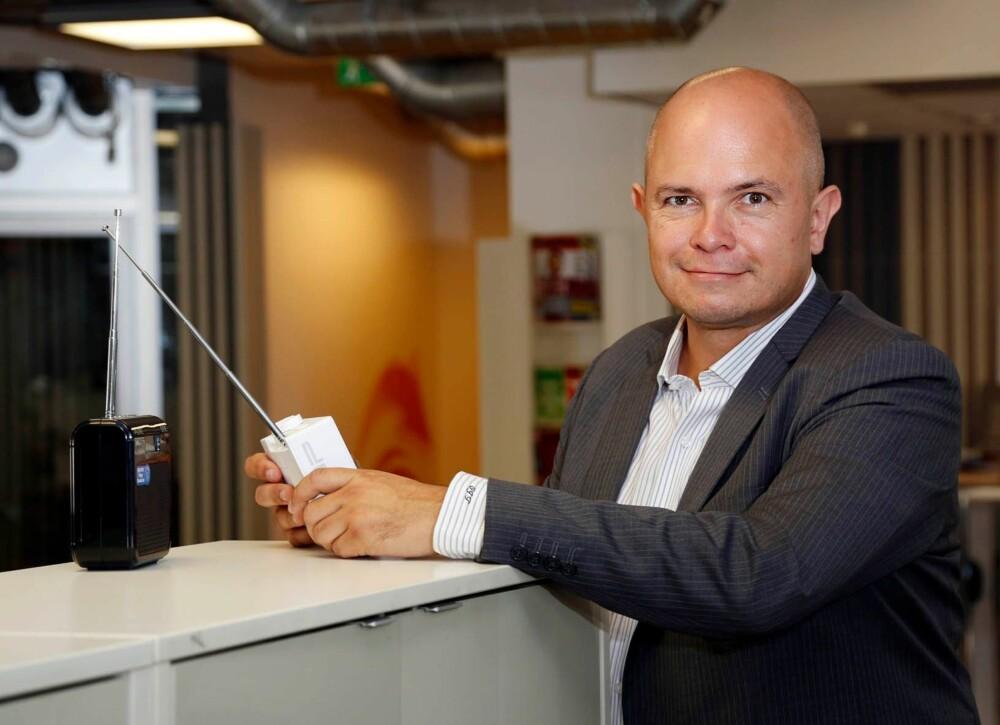KOSTER: En videre drift av FM-nettet koster 200–250 millioner kroner i året. Ole Jørgen Torvmark er daglig leder i Digitalradio Norge.