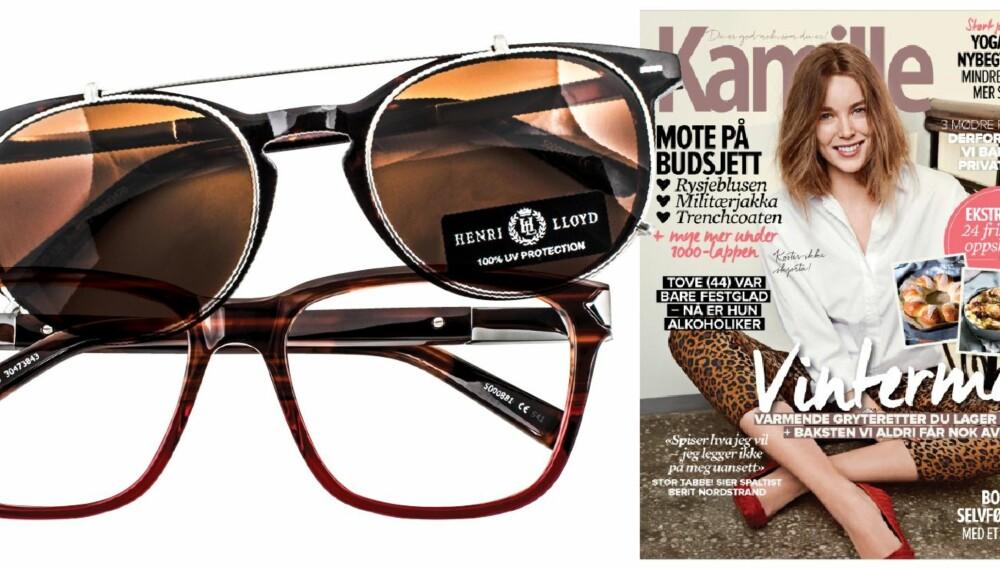 KONKURRANSE: Ved å svare på undersøkelse, kan du bli en av fem heldige vinnere av briller fra Specsavers.