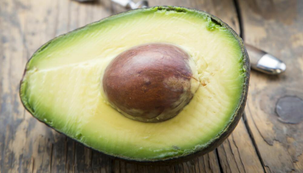 DIGG MED AVOKADO: Avokado bør du spise jevnlig rett og slett fordi avokado er stappfull av gunstige næringsstoffer.