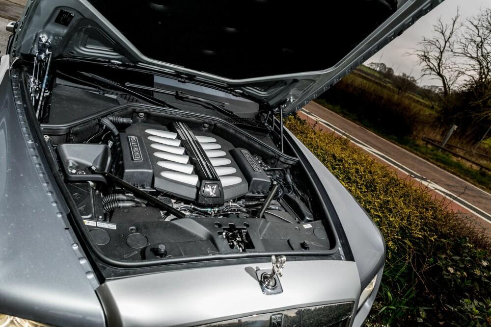"""NOK KREFTER: I gamle dager pleide Rolls-Royce å ikke opplyse om antallet hestekrefter, men heller beskrive det som """"tilstrekkelig"""". Foto: Si Gray"""