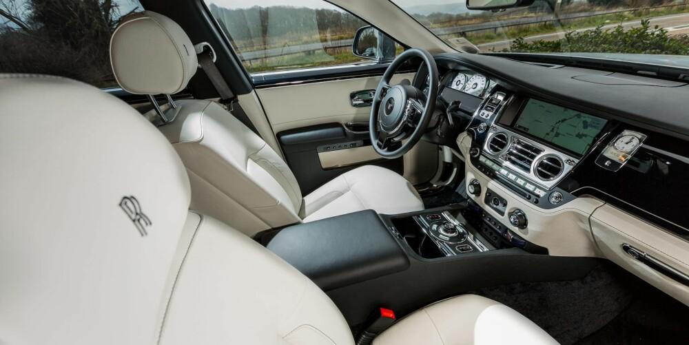 BMW-TEKNIKK: Det aller meste er håndbygget i Ghost, men mye av teknikken som ligger bak er hentet fra BMW. Foto: Si Gray
