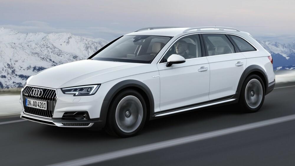 SOMMERKLAR: De første versjonene av Audi A4 Allroad er ventet til Norge i juni. FOTO: Audi
