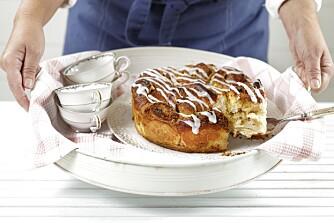 KOS TIL KAFFEN: Med denne herlige kaken vil du garantert spre litt glede i vintermørket!