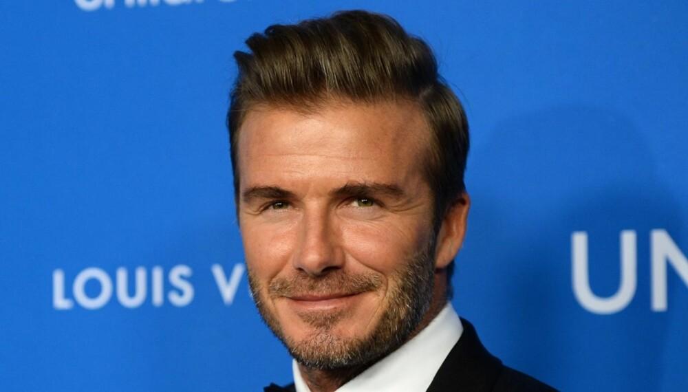THE QUIFF: Svært mange har blitt fan av denne lekre og velstelte hårfrisyren, deriblant David Beckham.