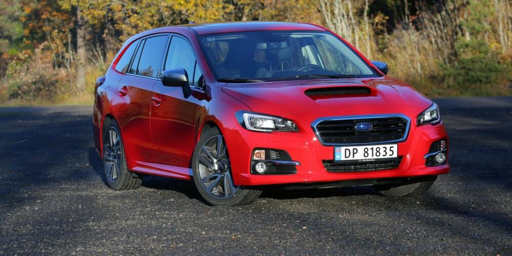 GODT BYTTE: Subaru Levorg erstatter den anonyme Legacy, og endelig har Subaru fått en morsom bil til normalpris i porteføljen.