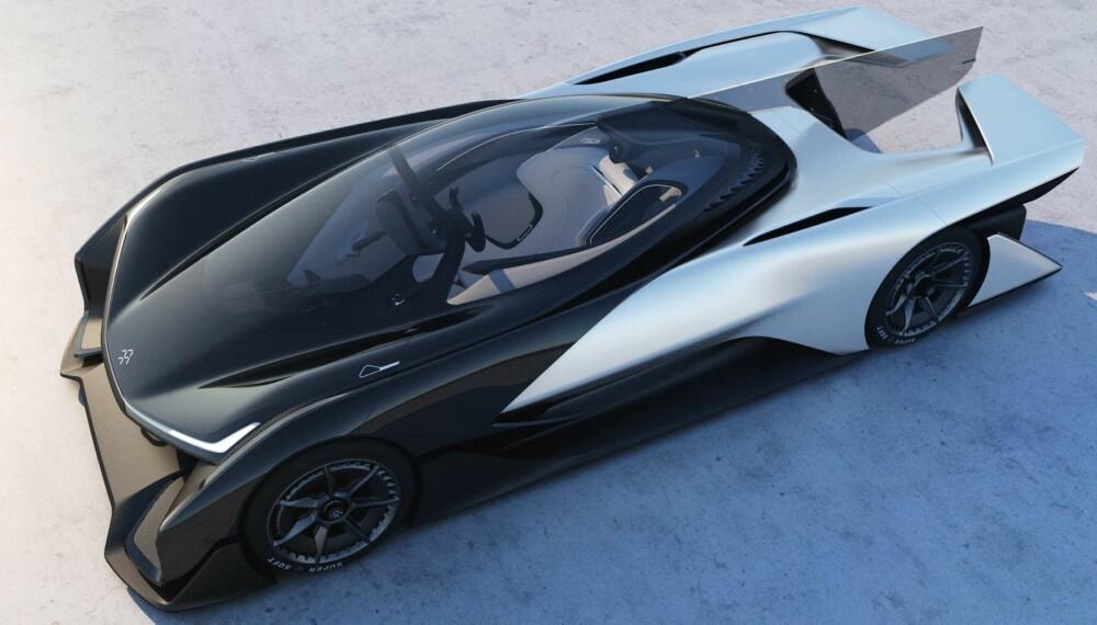EKSTREMT DESIGN: Designet er ekstremt. Akkurat som ytelsene. 0-100 km/t skal gå unna på under tre sekunder, og toppfarten er over 320 km/t.