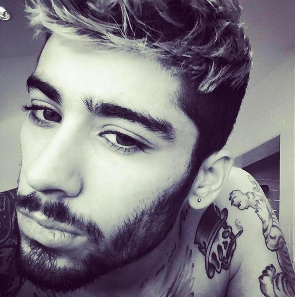 "SKIN FADE: Tidligere One Direction-medlem Zayn Malik har nylig blitt observert med en ""skin fade""."