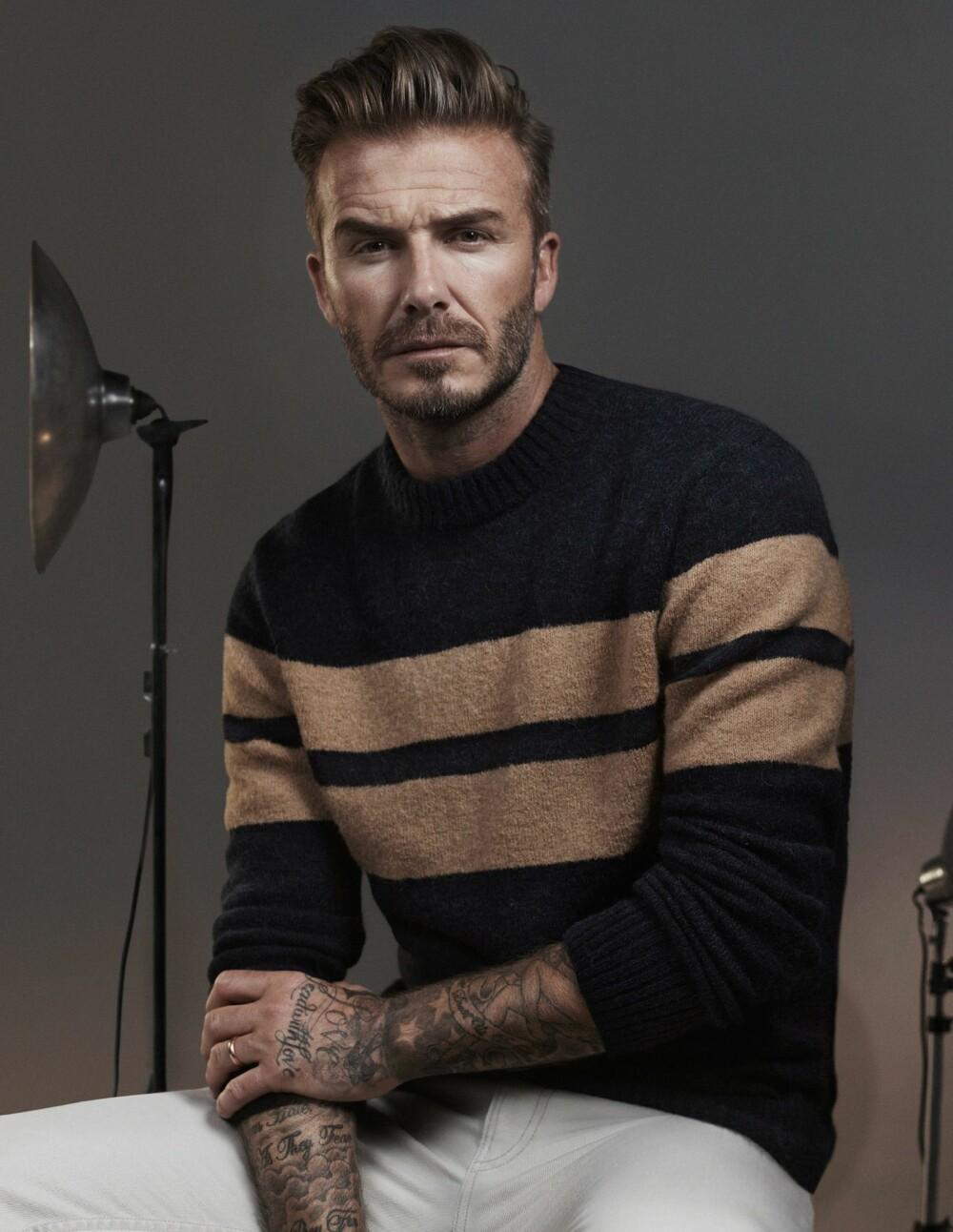 THE QUIFF: En klassisk frisyre som blant annet David Beckham digger.