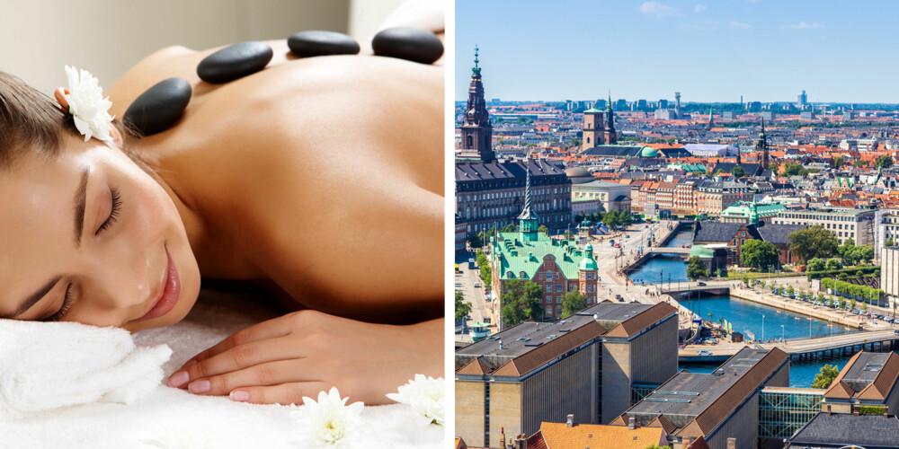 SPA ELLER TUR SAMMEN: Hva med å gi en deilig spabehandling eller dra på tur sammen til for eksempel København?