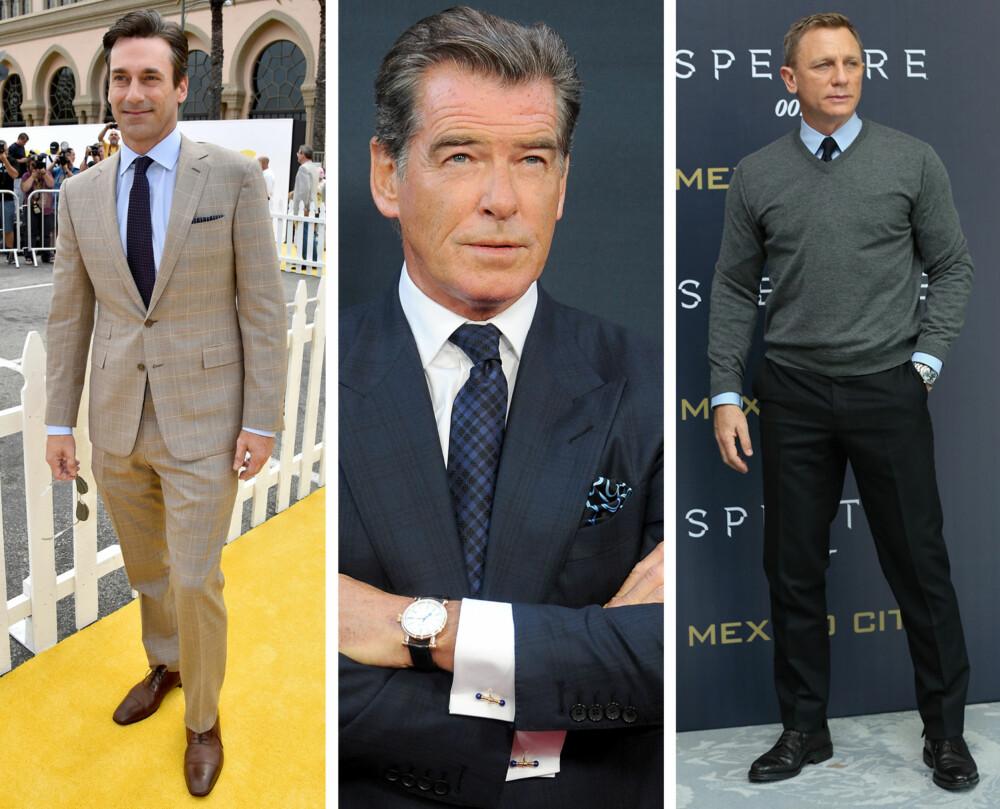 40- OG 50-ÅRENE: Er du i denne alderen er dress, stilige sko, mansjettknapper og strikk noe garderoben din bør inneholde.