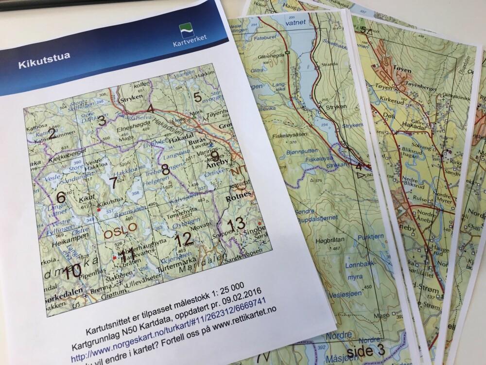 SKRIV UT: Når du har laget ditt eget kart, får du lastet ned en PDF som du kan skrive ut.