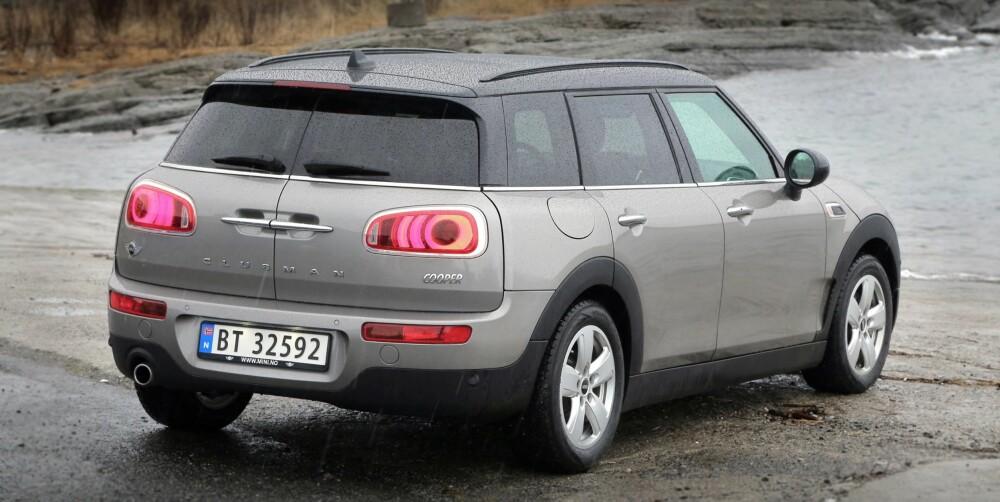 MER TRADISJONELL: Clubman begynner å ligne faretruende på en «vanlig» bil. En kul, vanlig bil.