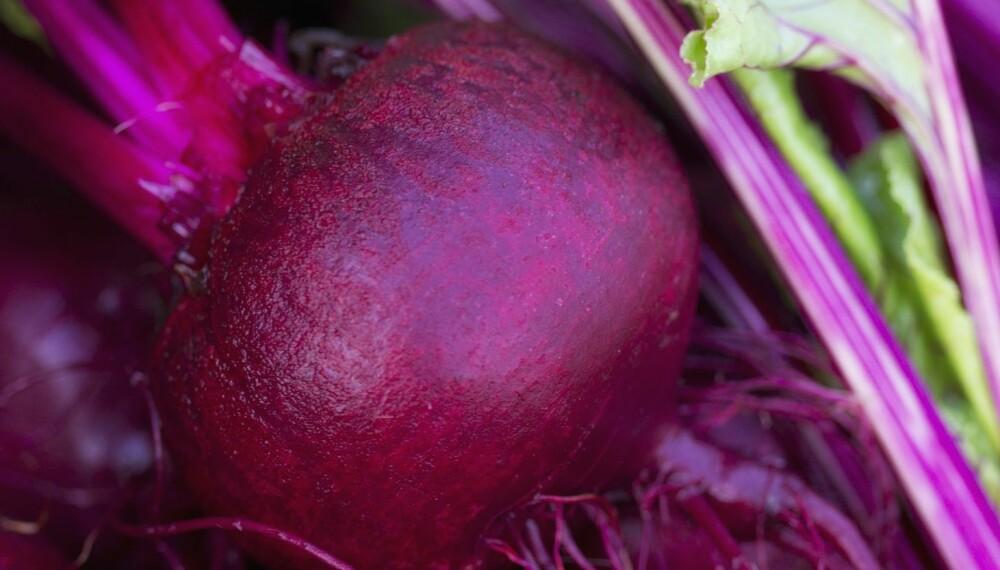 RØDT GULL FOR IMMUNFORSVAR OG MUSKLER: Rødbeter virker blodtrykkssenkende og er sprengfulle av B- og C-vitaminer, kalium og antioksidanter, ifølge ernæringsrådgiveren.