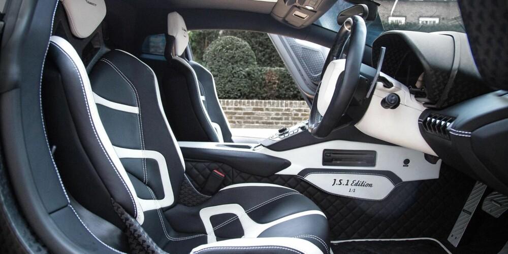 BEDRE ENN BEST: Mange mener Lamborghini Aventador LP 750-4 Super Veloce er verdens råeste sportsbil. Tyske Mansory var ikke én av dem.