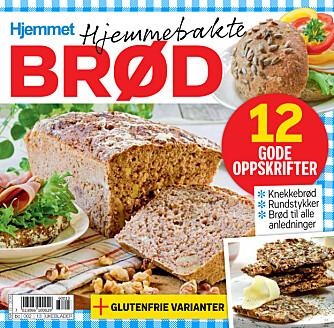 METTENDE OG SUNNE: I Hjemmet uke 10 får du 12 deilige oppskrifter på hjemmebakte brød.