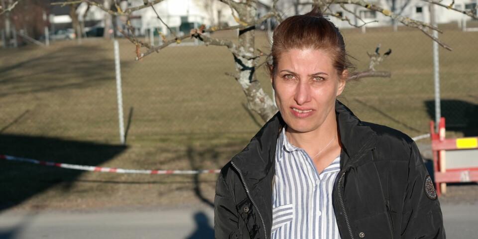 TAKKNEMLIG: Soryia er takknemlig for hjelpen hun har fått etter at hun kom til Norge. Den har blant annet gjort det mulig for barna å gå på fritidsaktiviteter.