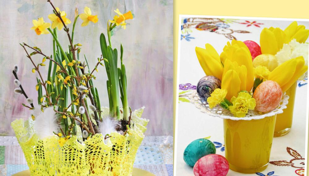 Påskepynt: Du rekker fint å lage disse til påske!