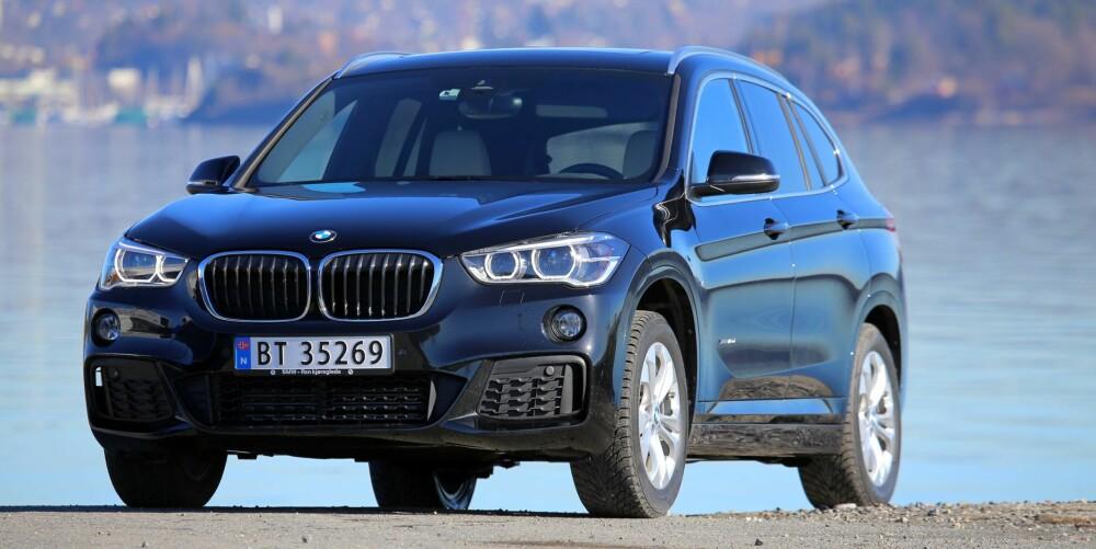 GOD FIGUR: Totalt sett synes vi den nye BMW X1 glir fint inn i BMW-programmet og erstatter forgjengeren på en fornuftig måte.