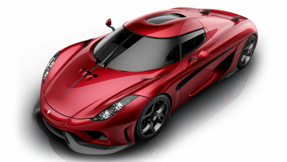 SUPERBIL: Regera skal være god for over 1500 hk og mer enn 2000 Nm. FOTO: Koenigsegg