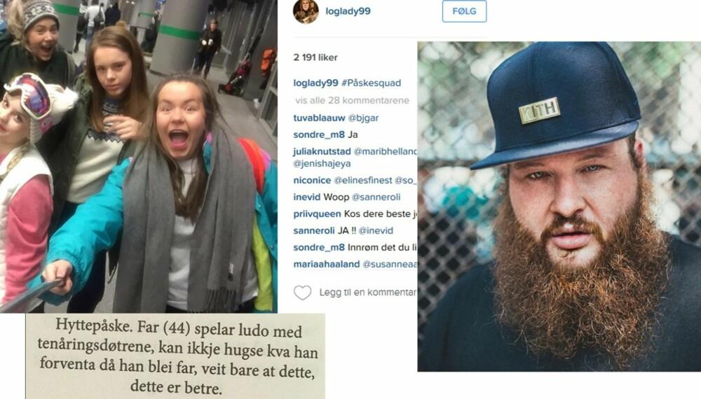 LE, DIGG OG LÆR: @loglady99/@bambambaklava/@renpoesi er 3 instagramkontoer vi elsker å følge om dagen.