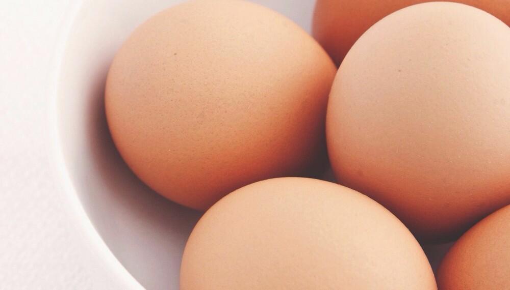 EGG - EN PROTEINBOMBE: Egg er ekstremt rike på kvalitetsprotein, og særlig den gode sammensetningen av amonisyrene D- og B12-vitamin.