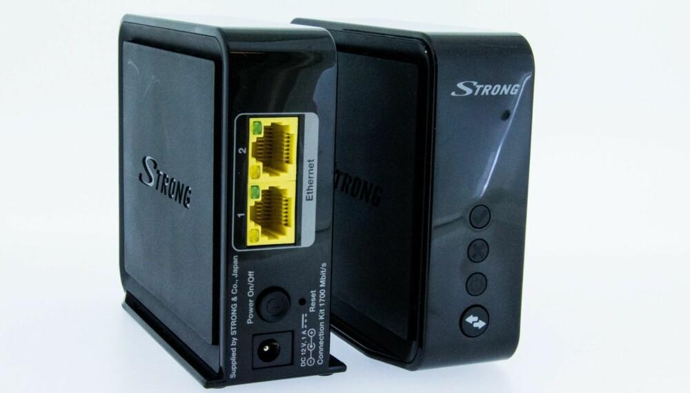 STERK: Strong har en sterk løsning om du trenger mer fart når du streamer film.
