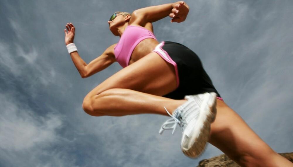 START FORSIKTIG: Uansett om du er godt eller dårlig trent, er det derfor viktig at du gradvis vender kroppen til den monotone belastningen det faktisk er å løpe.