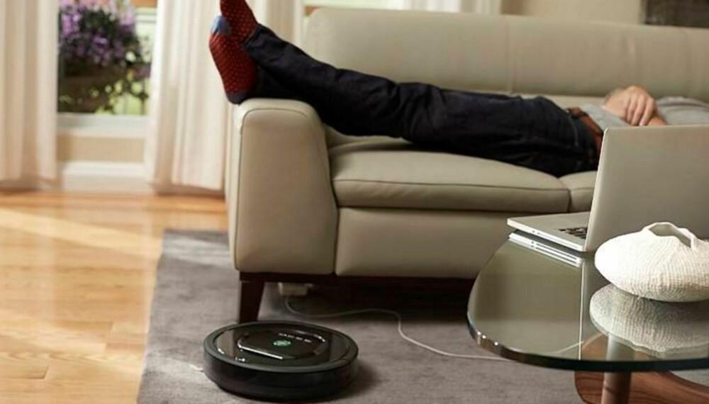 Støvsugeren iRobot-Roomba eliminerer ikke behovet for støvsuging, men gjør livet litt lettere i hverdagen.