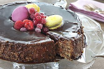 LETT Å LAGE: Ja, denne ser avansert ut, men kaken krever hverken mye tid eller spesielle ferdigheter.