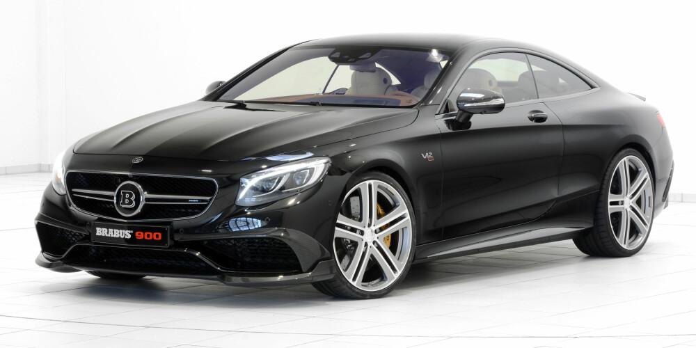 RASK: Mercedes S 65 Coupe med 900 hk. FOTO: Brabus