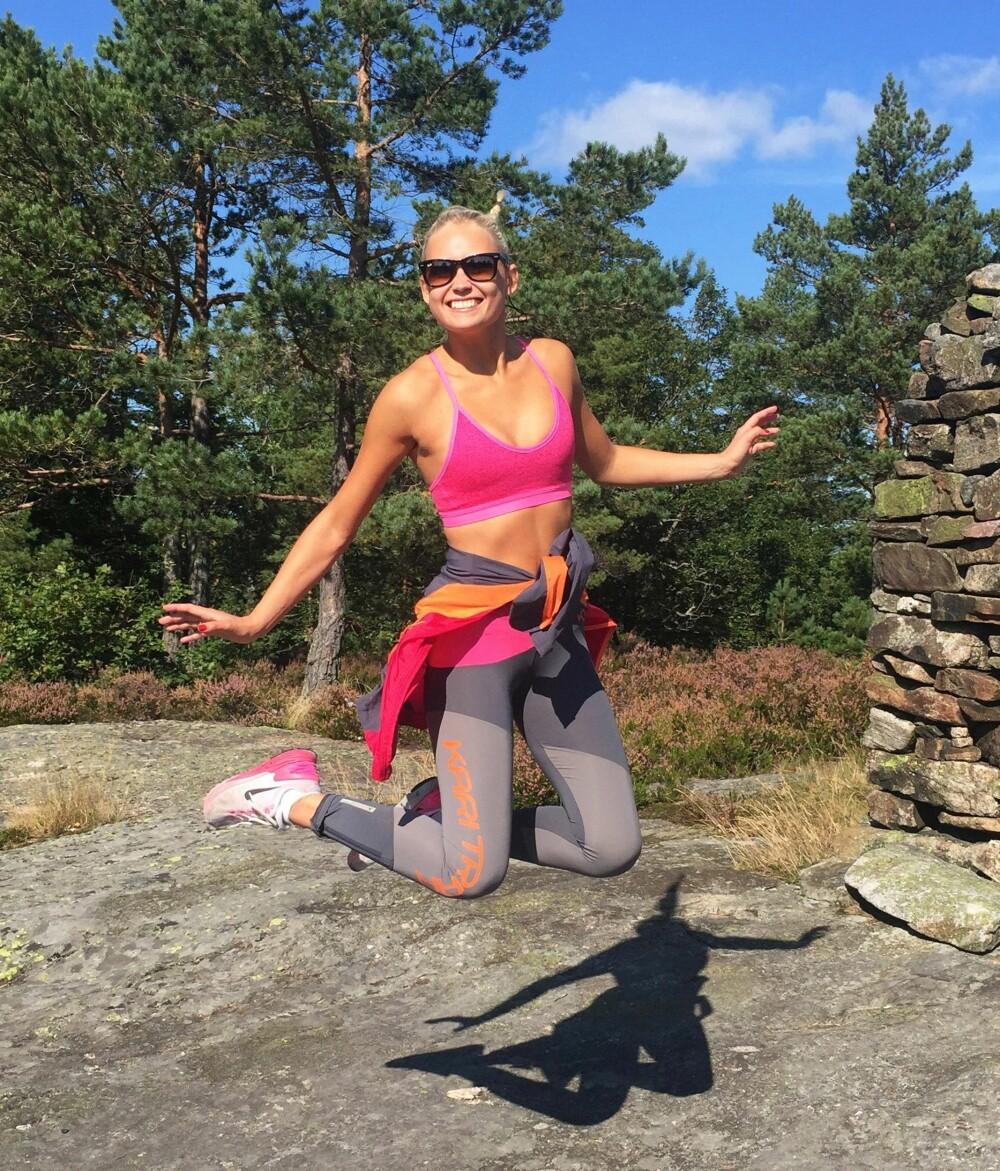 @HELENEMP: - Jeg foretrekker å trene bakkeintervaller når jeg er utendørs, og på tredemølla er favoritten 3x3-intervaller.