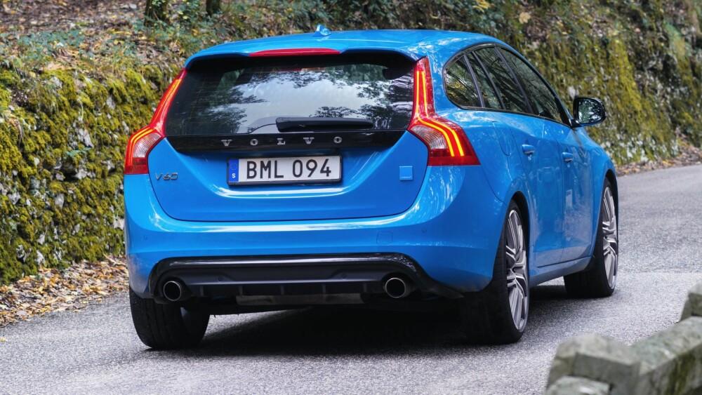 SPESIAL: Volvo V60 Polestar med 367 hk.
