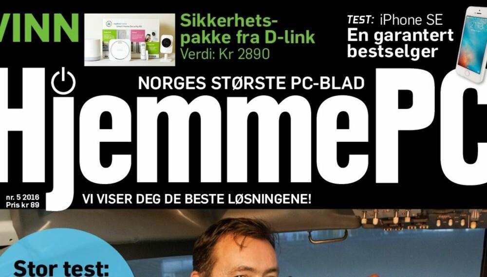 I SALG NÅ: Maiutgaven av HjemmePC er i salg nå.