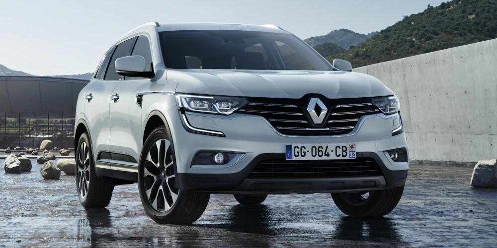 SUV: Renault Koleos er ventet til Norge neste år. FOTO: Renault