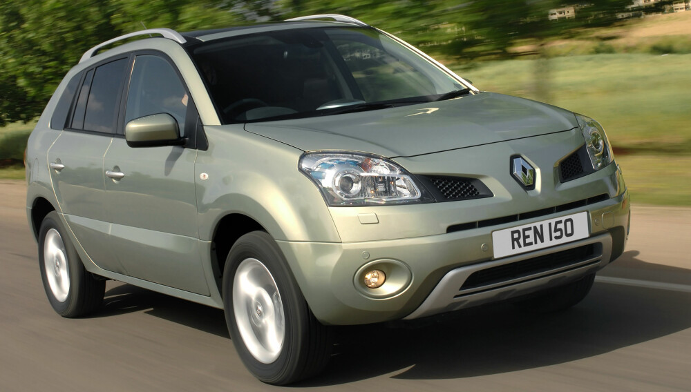 FORT GLEMT: Forrige generasjon Koleos. FOTO: Renault