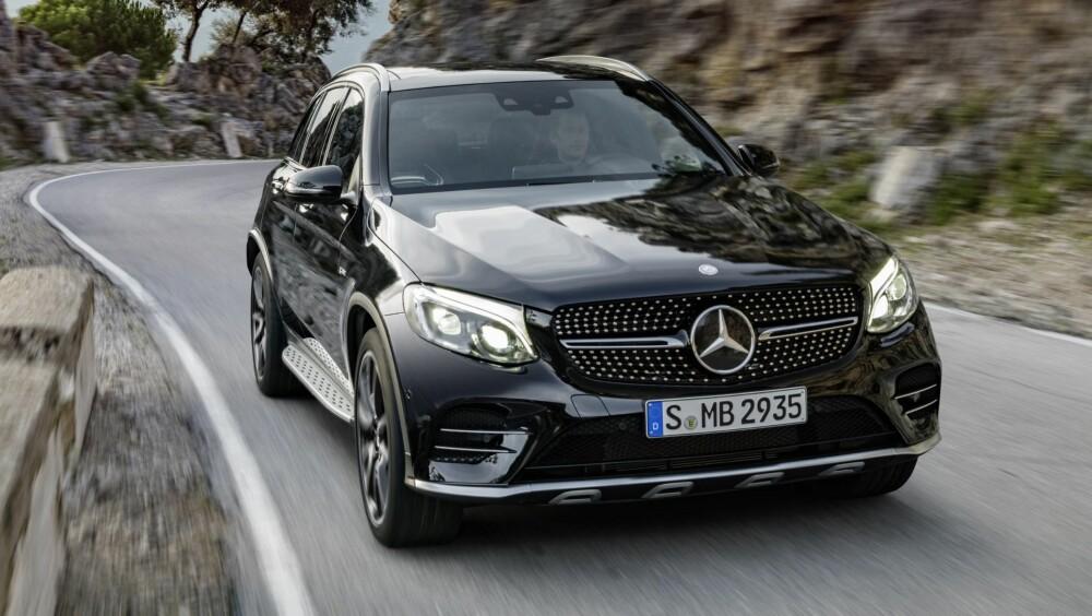 AMG: Den 367 hester sterke AMG-modellen har 47 hester mer enn 350 e, men grunnprisen er over 400 000 kroner høyere. FOTO: Daimler AG