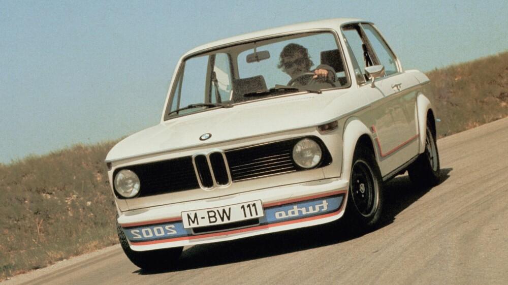 LEGENDE: BMW 2002 Turbo. FOTO: BMW
